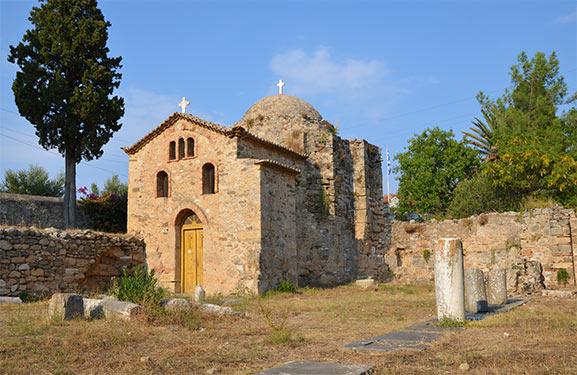 Ο Ναός του Απόλλωνα και ο Βυζαντινός Ναός της Αγίας Σοφίας