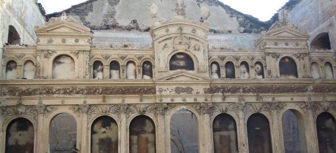 Σημαντική ιστορική απώλεια η καταστροφή του Ναού του Άγιου Χαραλάμπους στη Κορώνη!