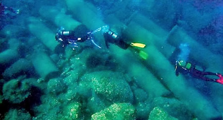 Underwater Methoni